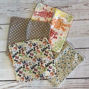 Other - Lot of 4 Handmade Baby Wash Cloths